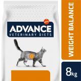 ADVANCE-VETERINARY DIETS Cat Weight Balance 8kg