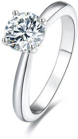 Beneto Stříbrný prsten s krystaly AGG200 56 mm