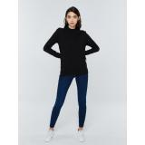 Big Star Womans Sweater 161978 -906 dámské Black L