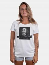 Bílé dámské tričko ZOOT Original Měl ses víc učit dámské bílá XS