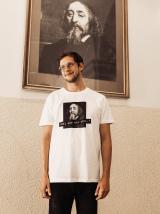 Bílé pánské tričko ZOOT Original Měl ses víc učit pánské bílá 3XL