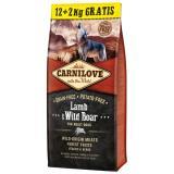Carnilove Lamb & Wild Boar Adult 12 2kg ZDARMA