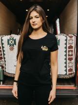 Černé dámské tričko ZOOT Original Čas nehraje roli dámské černá S