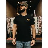 Černé pánské tričko ZOOT Original Čas nehraje roli pánské černá S