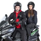 Dámské Kožené Moto Rukavice W-Tec Polcique Nf-4206  Černo-Bílá  Xs XS