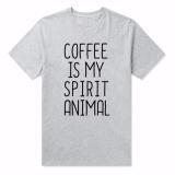 Dámské tričko pro milovnice kávy - 3 barvy Barva: bílá, Velikost: XXL