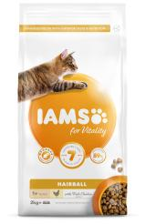 Iams cat adult hairball reduction chicken 2kg