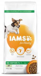 Iams dog adult small & medium lamb 12kg