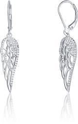 JVD Krásné stříbrné náušnice Andělská křídla SVLE0756XH2BI00 dámské