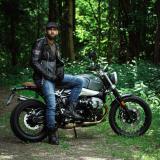 Kožená Moto Bunda W-Tec Black Heart Perfectis  Černá  3Xl 3XL