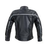 Kožená Moto Bunda W-Tec Mathal  Černá  M M
