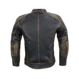 Kožená Moto Bunda W-Tec Mungelli  Vintage Hnědá  3Xl 3XL