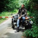 Kožená Moto Bunda W-Tec Mungelli  Vintage Hnědá  6Xl 6XL