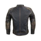 Kožená Moto Bunda W-Tec Mungelli  Vintage Hnědá  S S