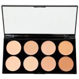 Makeup Revolution Cover & Conceal paleta korektorů odstín Light - Medium 10 g dámské 10 g