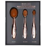 Makeup Revolution Pro Precision Brush sada konturovacích štětců 3 ks dámské 3 ks