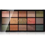 Makeup Revolution Reloaded paleta očních stínů odstín Empire 15 x 1,1 g dámské 15 x 1,1 g