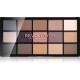 Makeup Revolution Reloaded paleta očních stínů odstín Iconic 1.0 15 x 1,1 g dámské 15 x 1,1 g