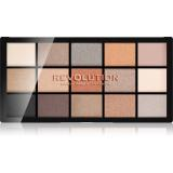 Makeup Revolution Reloaded paleta očních stínů odstín Iconic 2.0 15 x 1,1 g dámské 15 x 1,1 g