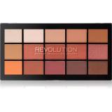 Makeup Revolution Reloaded paleta očních stínů odstín Iconic Fever 15 x 1,1 g dámské 15 x 1,1 g