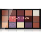 Makeup Revolution Reloaded paleta očních stínů odstín Visionary 15 x 1,1 g dámské 15 x 1,1 g