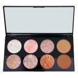 Makeup Revolution Ultra Blush paleta tvářenek odstín Golden Sugar 13 g dámské 13 g