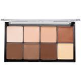 Makeup Revolution Ultra Pro HD Light Medium paleta na kontury obličeje krémová 20 g dámské 20 g