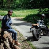 Moto Bunda W-Tec Kareko  Modrá  M M
