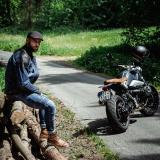 Moto Bunda W-Tec Kareko  Modrá  Xxl XXL