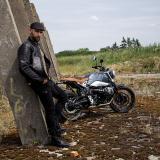 Moto Bunda W-Tec Metalgy  Černá  Xl XL