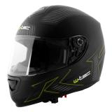 Moto Helma W-Tec V159  Black Elementor Green  Xl