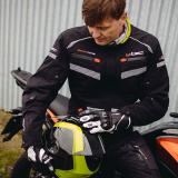 Moto Rukavice W-Tec Radoon  Černá  3Xl 3XL
