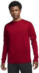Nike Tiger Woods Mens Sweater Gym Red/Black M