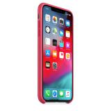 Originální silikonový kryt MUJP2ZM/A Apple iPhone XS Max hibiscus