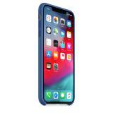 Originální silikonový kryt MVF62ZM/A Apple iPhone XS Max delft blue