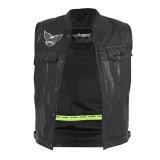 Pánská Moto Vesta W-Tec Midvora  Černá  Xxl XXL