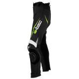 Pánské Kožené Moto Kalhoty W-Tec Vector  Černo-Modrá  L L