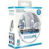 PHILIPS  H7 WhiteVision, 55W, patice PX26d, 2ks   zdarma 2x W5W