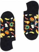 Ponožky Happy Socks Junk Food pánské černá 43-46