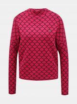 Růžový dámský vzorovaný svetr Blutsgeschwister Pink Shell dámské růžová S