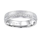 Silvego Snubní stříbrný prsten Paradise pro ženy QRGN23W 63 mm dámské