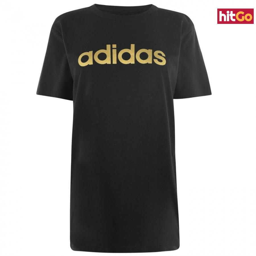 Adidas Foil QT T Shirt Ladies dámské Black   Other M