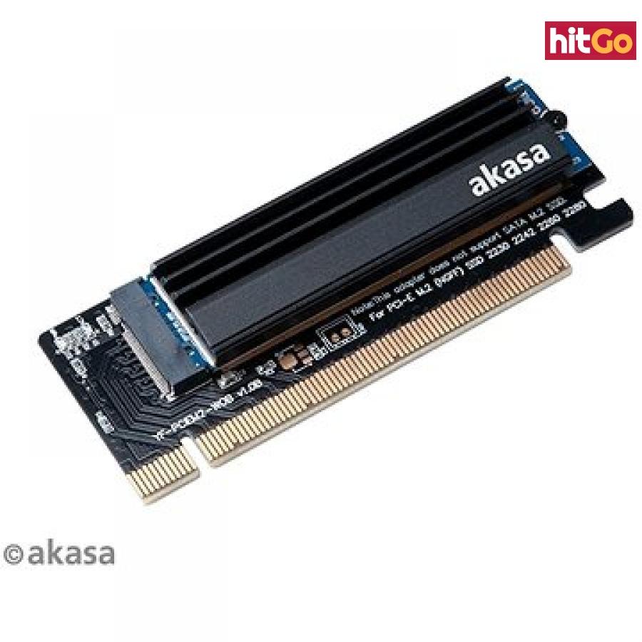 AKASA Redukce z PCIe x16 slot na M.2 SSD / AK-PCCM2P-05