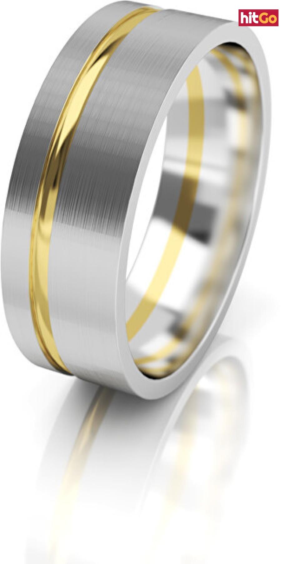 Art Diamond Dámský snubní prsten ze zlata AUG139 58 mm dámské