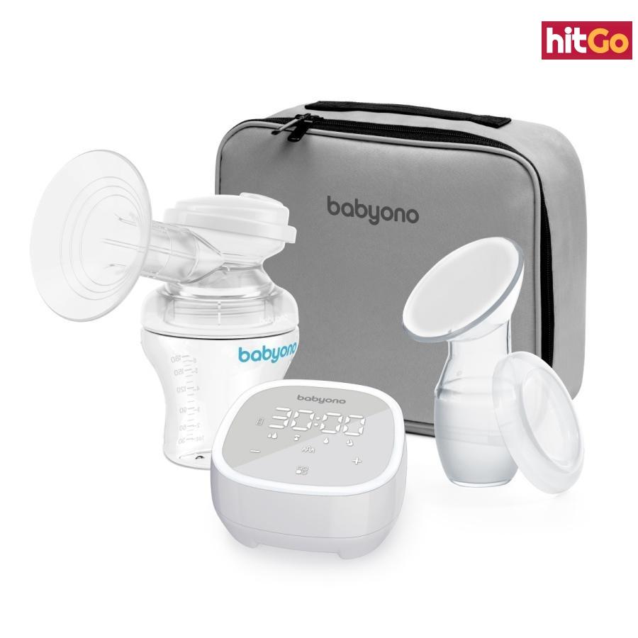 BABYONO Odsávačka mateřského mléka elektronická -5 režimů