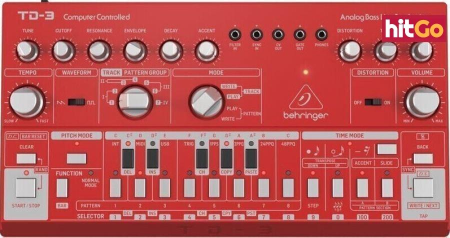 Behringer TD-3 Red