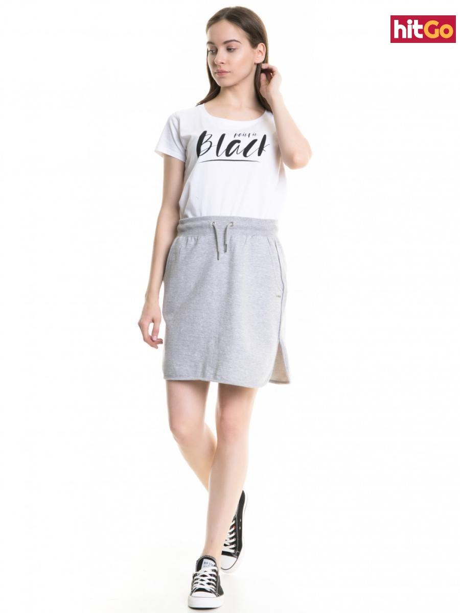 Big Star Womans Shortsleeve T-shirt 158785 -110 dámské White M