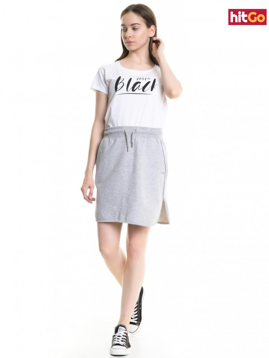 Big Star Womans Shortsleeve T-shirt 158785 -110 dámské White XL