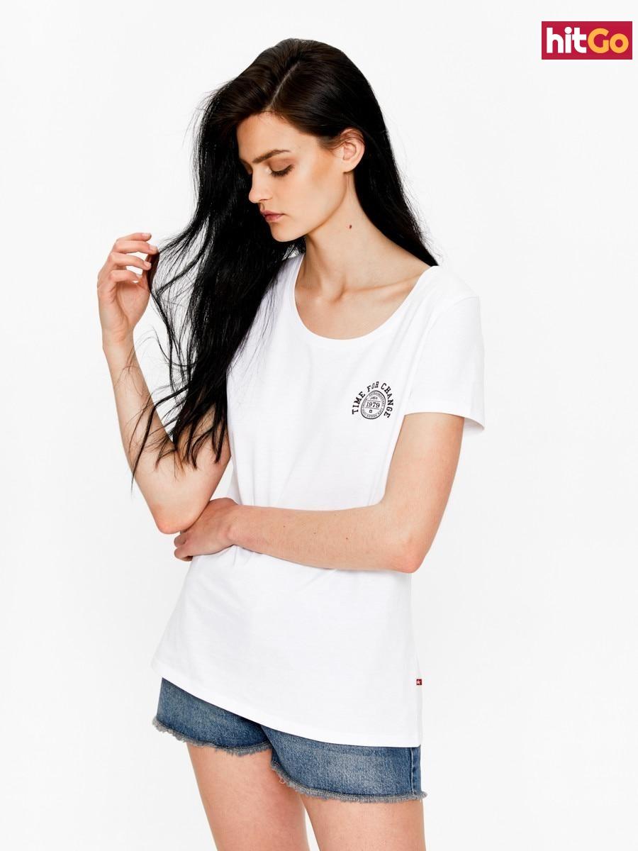 Big Star Womans Shortsleeve T-shirt 158789 -110 dámské White S