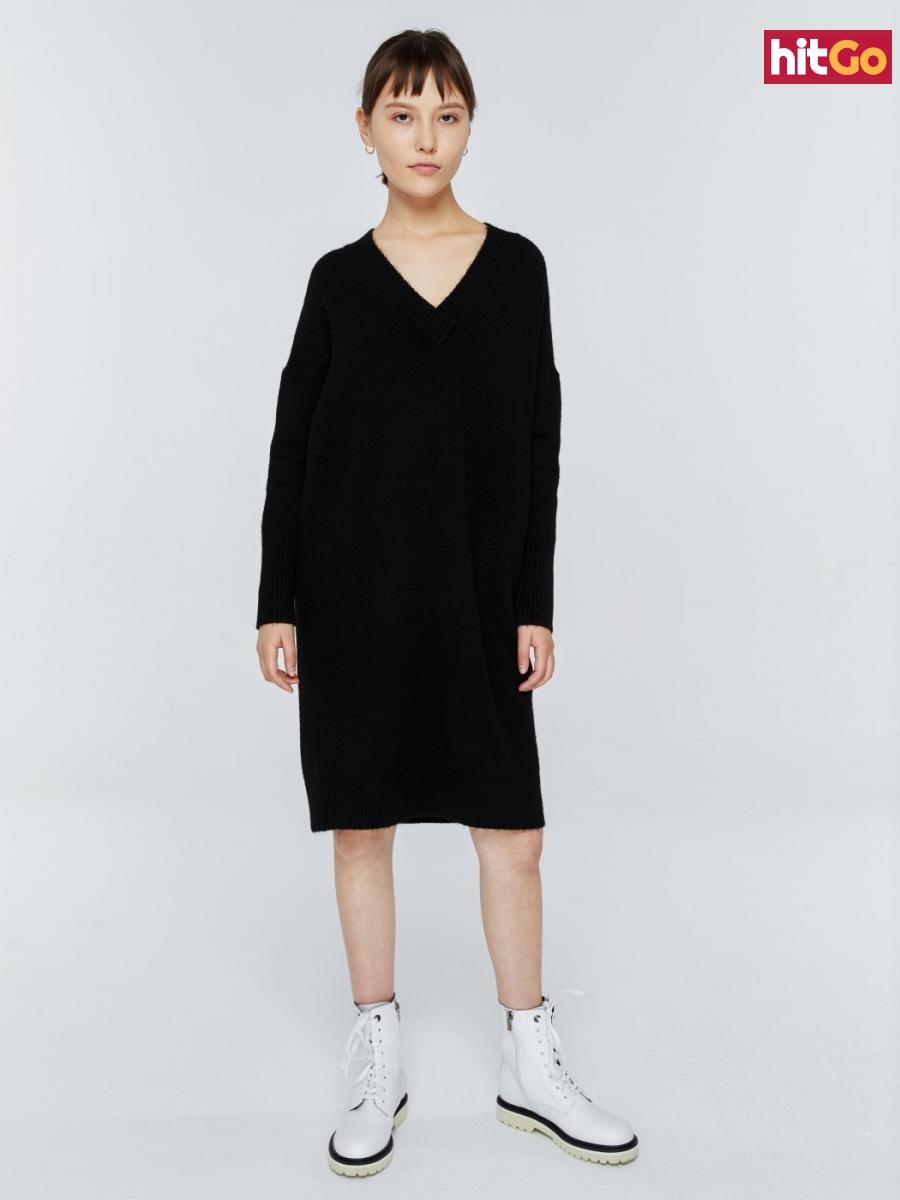 Big Star Womans Sweater 161983 -906 dámské Black S